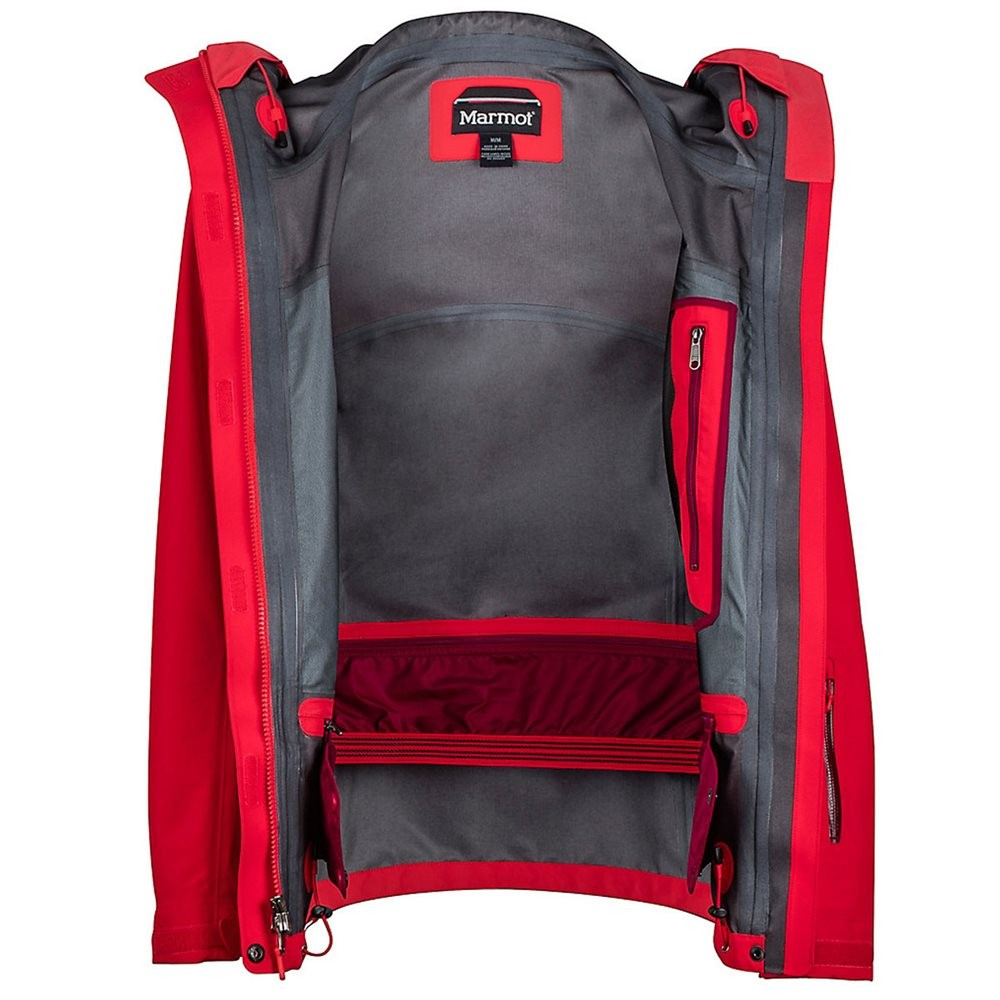 98662a7a Marmot Wm's Spire Jacket - Tomato/Red Dahlia | Sportslåven