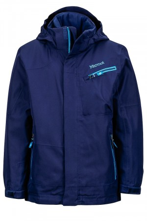 Marmot Boy's Freerider Jacket - Arctic Navy