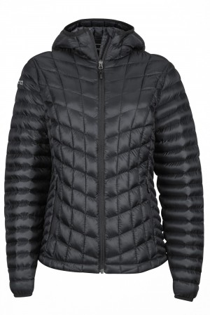 Marmot Wm's Featherless Hoody - Black