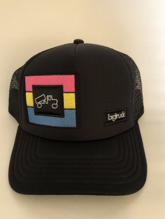 BigTruck Caps / Original Triple Stripe Emb./Black