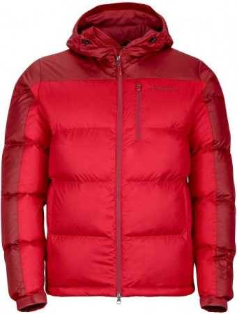 Marmot Guides Down Hoody - Team Red/Port