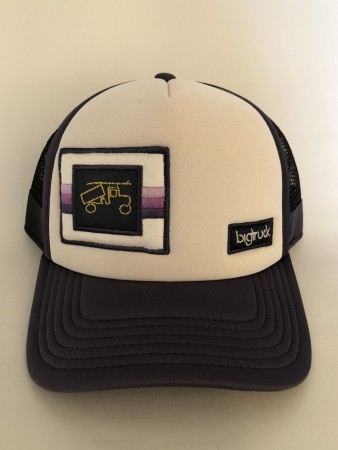 BigTruck Caps / Chic Premier White/ Black