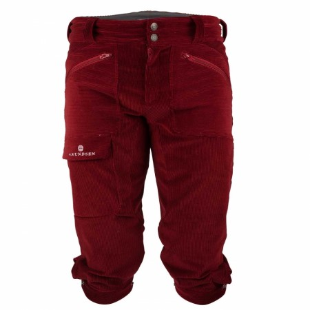 Amundsen CONCORD REGULAR KNICKERBOCKERS DAME - Ruby red