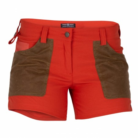 Amundsen Sports 5INCHER FIELD SHORTS WOMENS / Red clay/tan