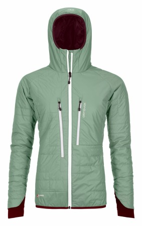 ORTOVOX SWISSWOOL PIZ BOÈ JACKET Womens / Green Isar