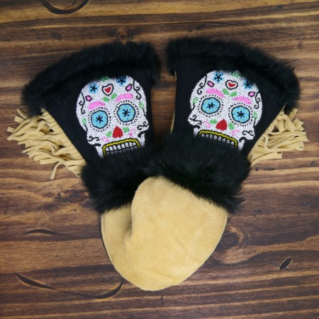 ASTIS long cuff mittens - Cortes