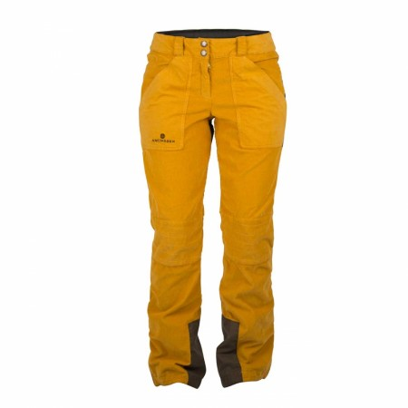 AMUNDSEN FJORDCORD SKI SLACKS Mens - Yellow Haze
