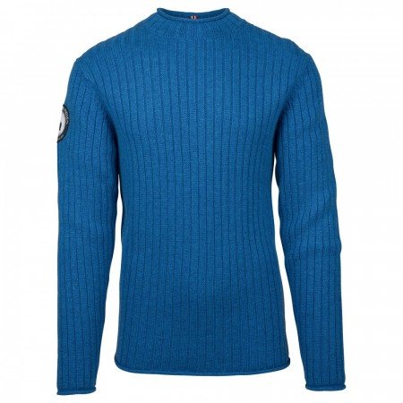 AMUNDSEN ROALD ROLL NECK HERRE - Battered Blue