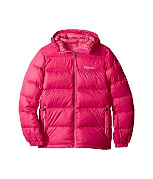 Marmot Girl's Guides Down Hoody - Pink Rock