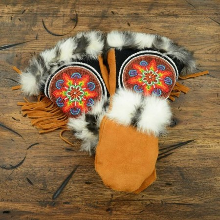 ASTIS long cuff mittens - Pocahontas