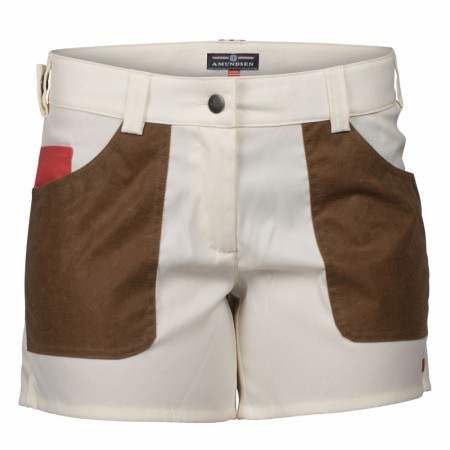 Amundsen Sports 5INCHER FIELD SHORTS WOMENS / Off white/tan