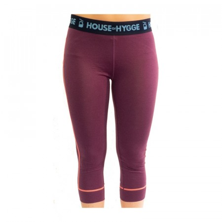 HyggeWool Women´s Capri // Wine Red