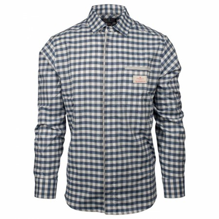 AMUNDSEN VAGABOND SHIRT MENS / Small Chequered Blue